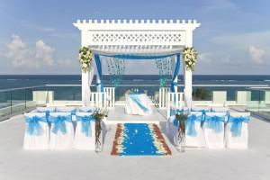 AZUL Sensatori sky wedding
