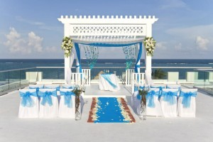 AZUL Sensatori sky wedding
