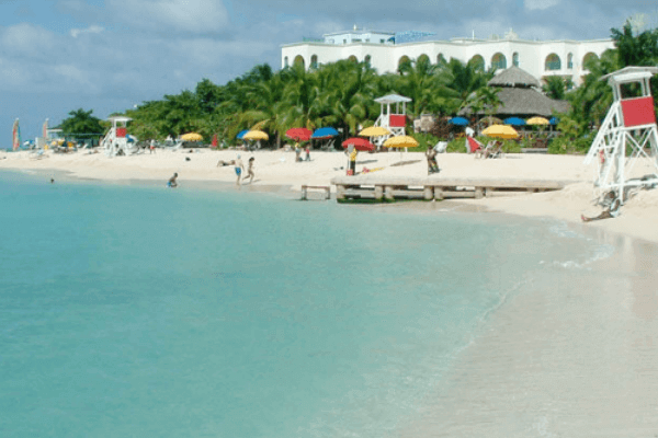 Doctor's Cave Beach In Montego Bay
