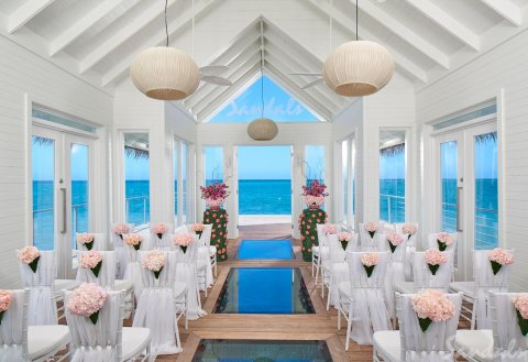 Sandals Montego Bay Over The Water Chapel