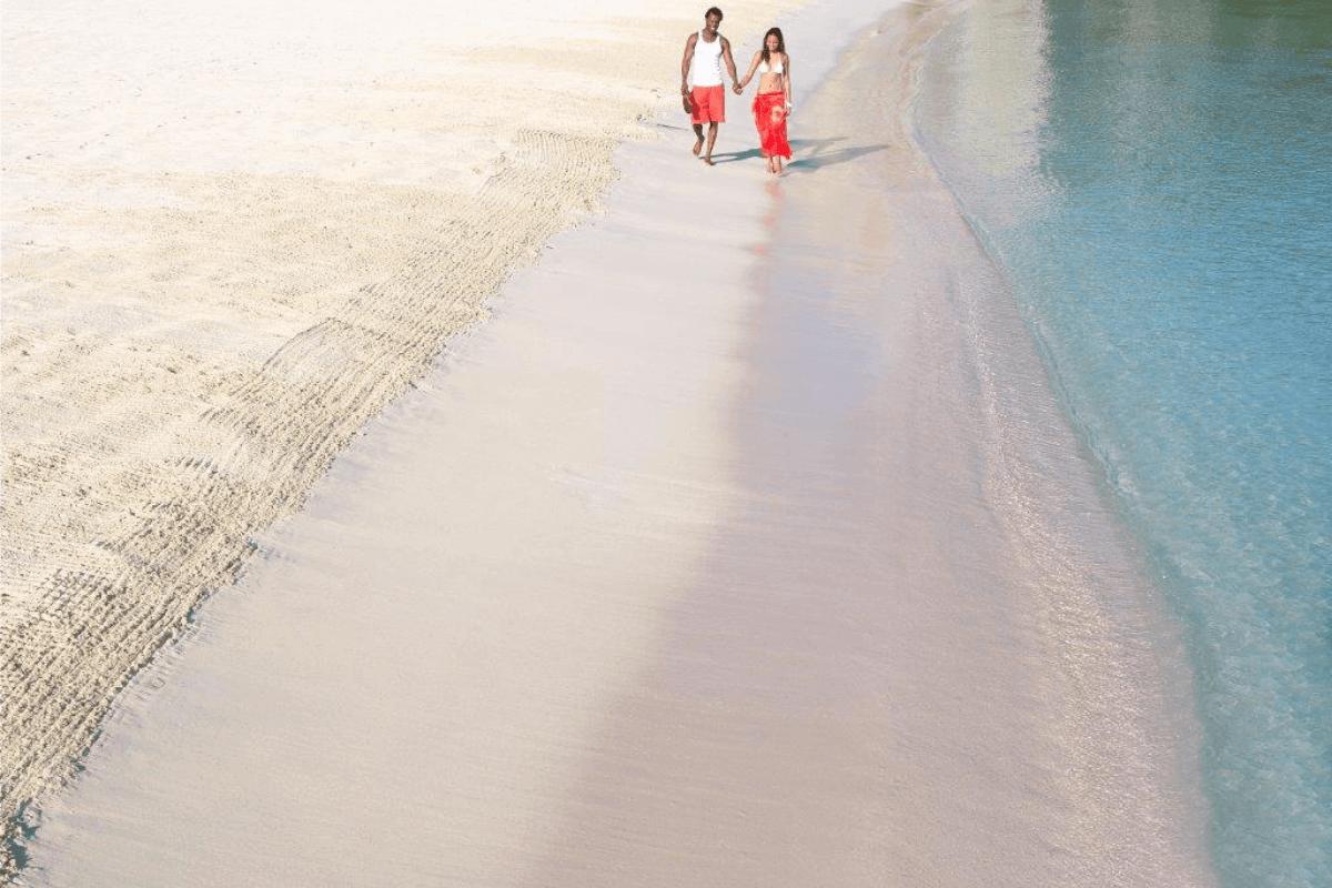 Stunning Beach In Jamaica