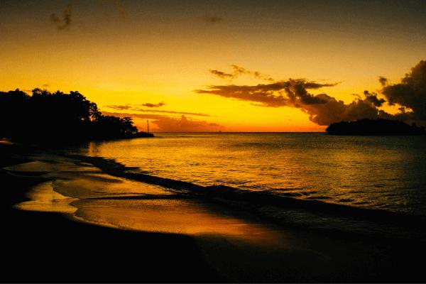 Beautiful Sunset At Halcyon Beach
