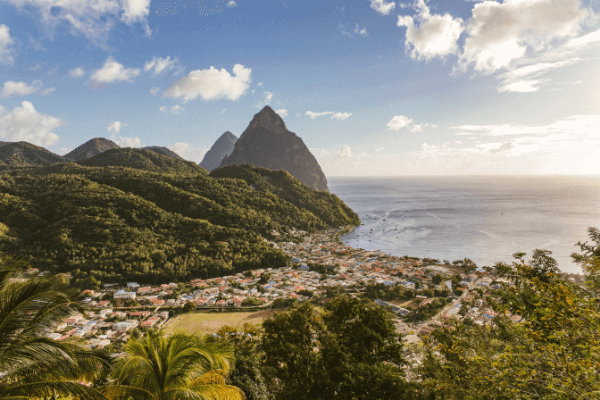 The Iconic And Well Known Pitons